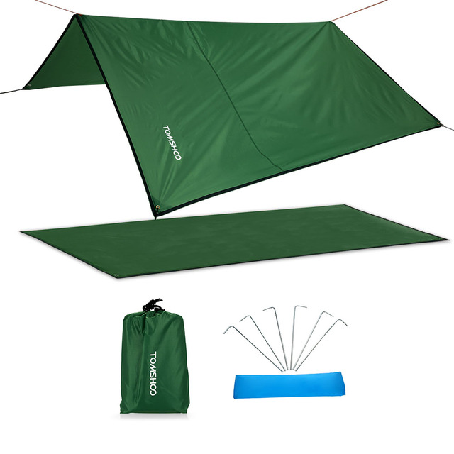 TOMSHOO Ultralight C&ing Mat Outdoor Waterproof Tent Awning Tarp Footprint Ground Sheet Beach Mat Blanket Canopy  sc 1 st  AliExpress.com & TOMSHOO Ultralight Camping Mat Outdoor Waterproof Tent Awning Tarp ...