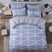 BEST WANSD 100 Bamboo Fiber Jacquard Duvet Cover Set 4PCS 1 Sheets 1 Quilt 2 Pillowcase