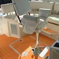 78 X23 Orange White Line Self Adhesive EVA Foam Teak Sheet Boat Yacht Synthetic Decking 120cmx200cm