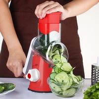 Kitchen Tool Hand Slicer Vegetable Cutter Manual Vegetable Spiral Slicer Cheese Grater Clever Vegetable Chopper