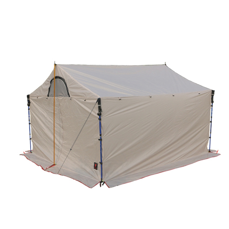 Hillman 5-8 Person Camping Roof Tent 20D Silicone Single Layer Large Awning Outdoor Ultralight Waterproof Tarp Canopy Tent outdoor camping hiking automatic camping tent 4person double layer family tent sun shelter gazebo beach tent awning tourist tent