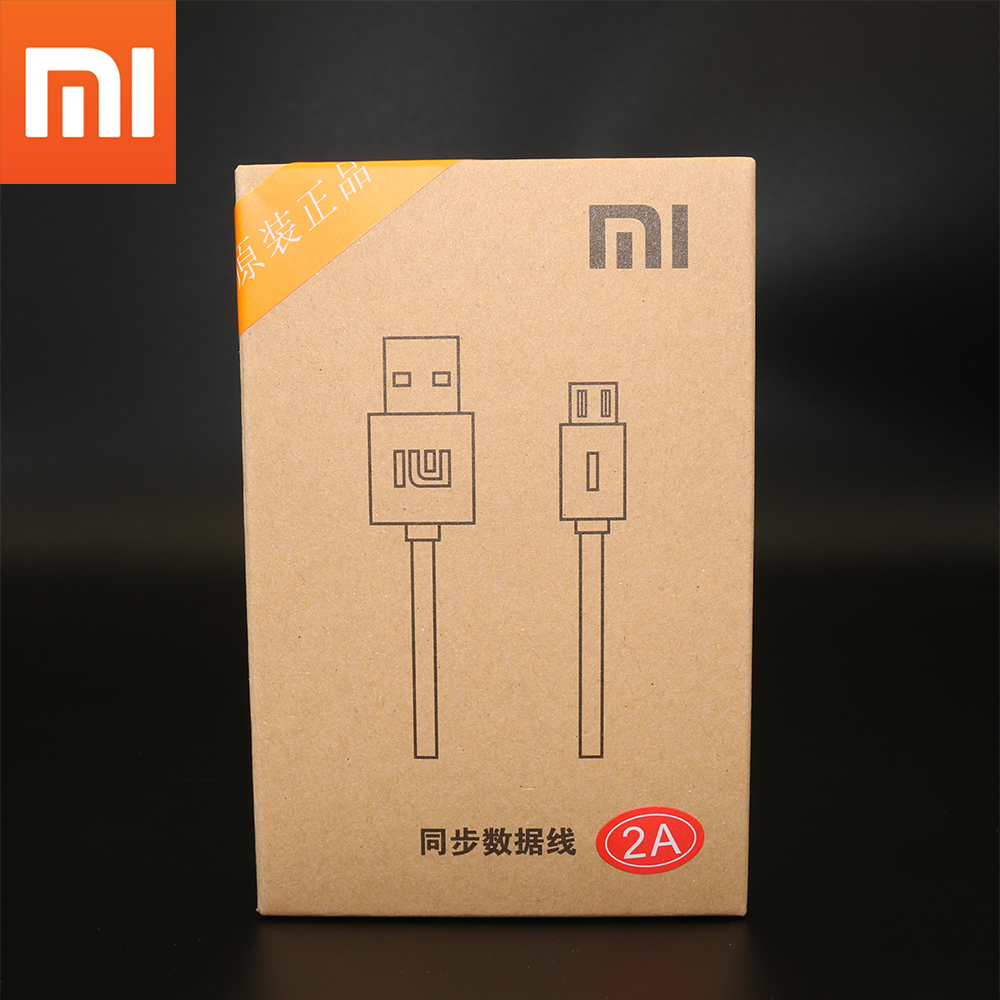 Original Xiaomi Micro USB Cable,120CM Fast Charging Data Cable Cord For Mi 3 3s 4 Max Redmi 3 3s Note 3 4 4X 4A 5 5A Plus