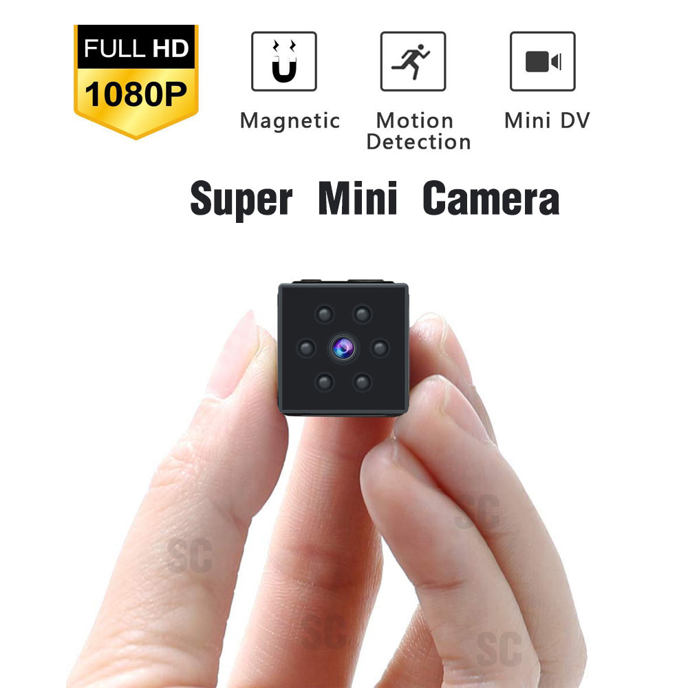 1080P HD Mini Camera sport DV Portable Covert Body Cam Nanny Security Night Vision Motion Detection Home Secret hidden TF card image