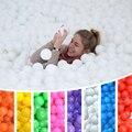 100 Pçs/lote Pit Bola de Plástico Macio Oceano Bola Piscina BOBO bola de Cor Pura Cor de Alta Qualidade com Certificação do CE Livre grátis
