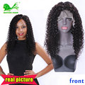 Full Lace Human Hair Wigs For Black Women 130% Brazilian Kinky Curly Wig Natural Short Bob Glueless Lace Front Human Hair Wigs