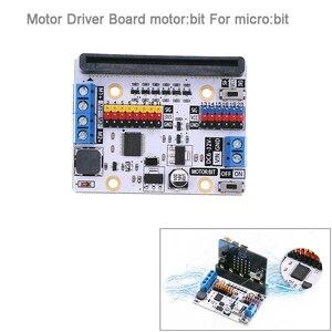 Image 1 - Bordo di Driver del motore del motore: bit Scheda di Espansione Per BBC micro: bit microbit Bordo, per Smart Auto, per I Bambini FAI DA TE Programma FZ3252