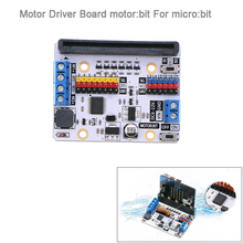 Motor มอเตอร์: bit บอร์ดขยายสำหรับ BBC micro: bit microbit Board สำหรับรถสมาร์ทสำหรับเด็ก DIY โปรแกรม FZ3252