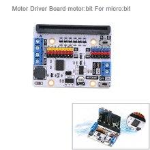 Motor sürücü panosu motoru: bit genişletme kartı BBC mikro: bit microbit Kurulu, Akıllı Araba için, çocuklar için DIY Programı FZ3252