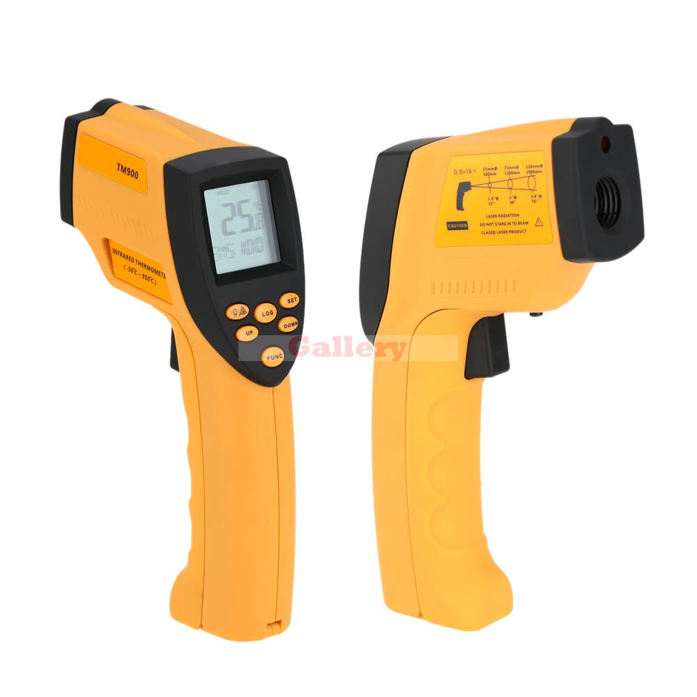 Non Contact Handheld Outdoor Digital Ir Infrared Thermometer Temperature Meter Pyrometer Measuring Range 50 950 Degree with Lcd uni t ut372 non contact tachometer with measuring range 10 to 99 999 rpm