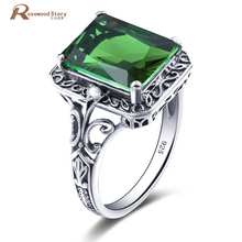 Fashion Jewelry Wedding Rings For Women Real 925 Silver Baro