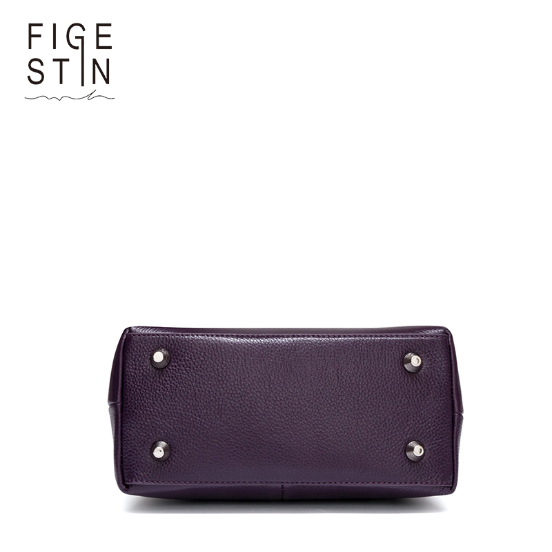 figestin mulheres sacolas designer de Handle And Bottom Material : Synthetic Leather