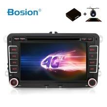 HD Android 7.1 DVD Dell'automobile di VW di Navigazione GPS Wifi + Bluetooth + Radio Autoradio 2 Din Per Volkswagen GOLF 4 5 6 POLO PASSAT JETTA TIGUAN