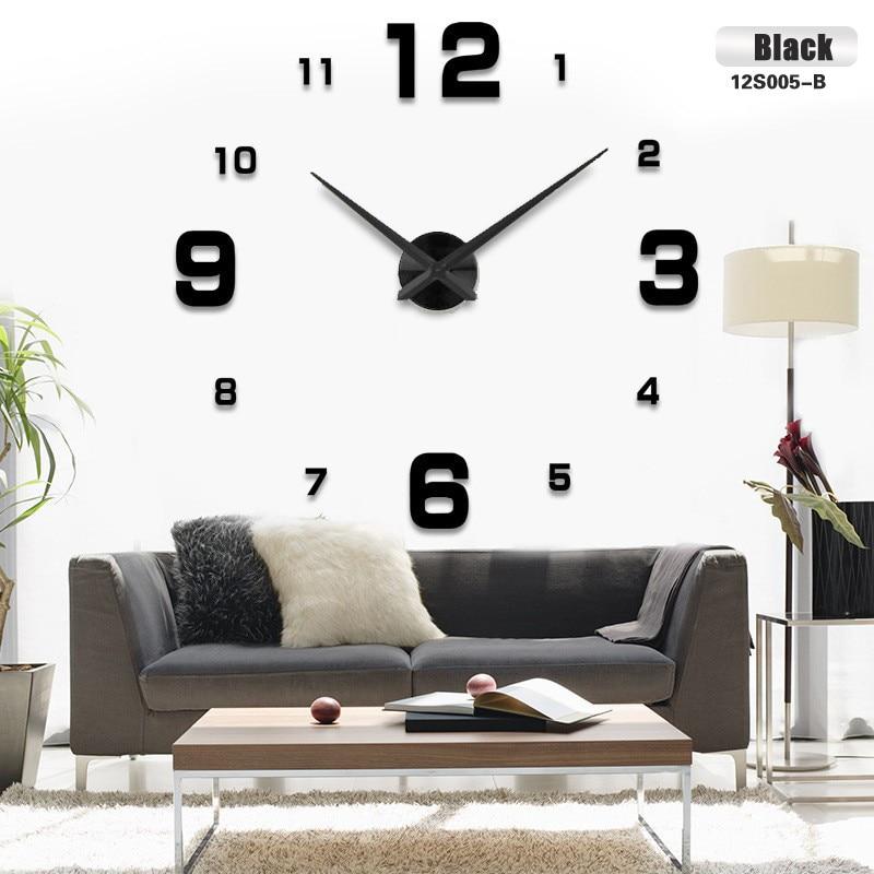 Свободнаа перевозка груза мода 3Д великость стенного часовника стени ДИИ стени часовника декорациа дома великолепниј стенниј сат собственнаа собака