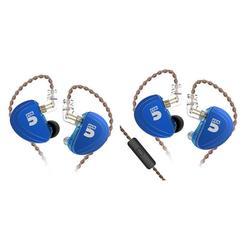 CCA A10 5BA In Ear Earphone Drive Units HiFi Monitoring 8 Balanced Armature HIFI Sports Headset With Detachable 2PIN Cable