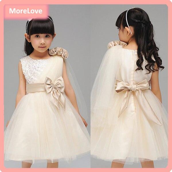 Aliexpress.com : Buy Retail Ribbons Beading Bow Sashes Girl Dress ...