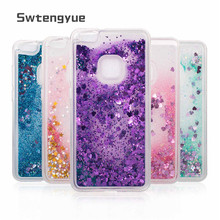 Dynamic Quicksand Liquid case For Huawei P10 lite Glitter Bling Sand Silicone Soft TPU Phone cover