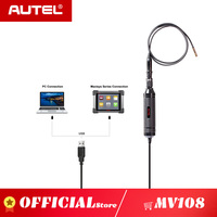 Autel MaxiVideo MV105/108 Automotive Inspection Camera 5.5/8.5 mm Image Head Work with MaxiSys PC Record image car diagnostic