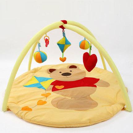 Esteira do enigma de Eva Tapete Infantil Cobertor Jogo Do Bebê Do Algodão Puro Crawl Brinquedo Almofada Cremalheira Aptidão bebê Recém-nascido Presente Lua Cheia Feminino masculino