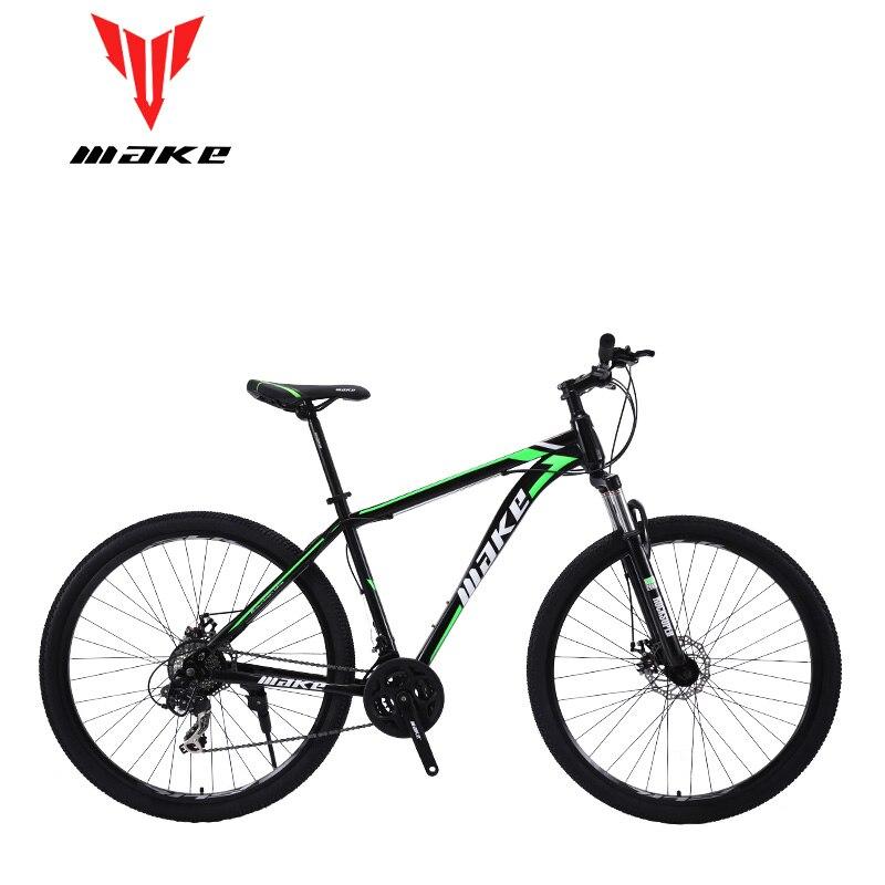 Make telaio in acciaio Mountain Bike 29 ruota, 24 velocità SHIMANO