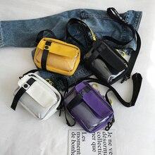 Composite Cross Body PVC Bags For Women Shoulder Bag 2019 Womens Transparent Messenger Canvas Pocket for Fashion Woman