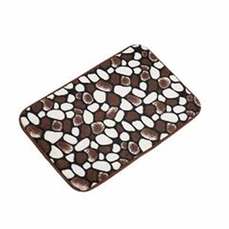 Tanie 40*60cm mata do kąpieli dywan łazienkowy dywan koral polar mata łazienkowa kuchnia drzwi tapis salle de bain Drop shipping