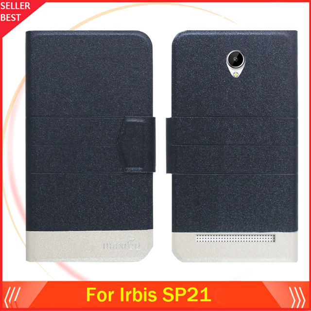 """5 Colors Factory Direct!! Irbis SP21 Case 5"""" Dedicated Flip Fashion Luxury Leather Protective 100% Special Phone Cover"""