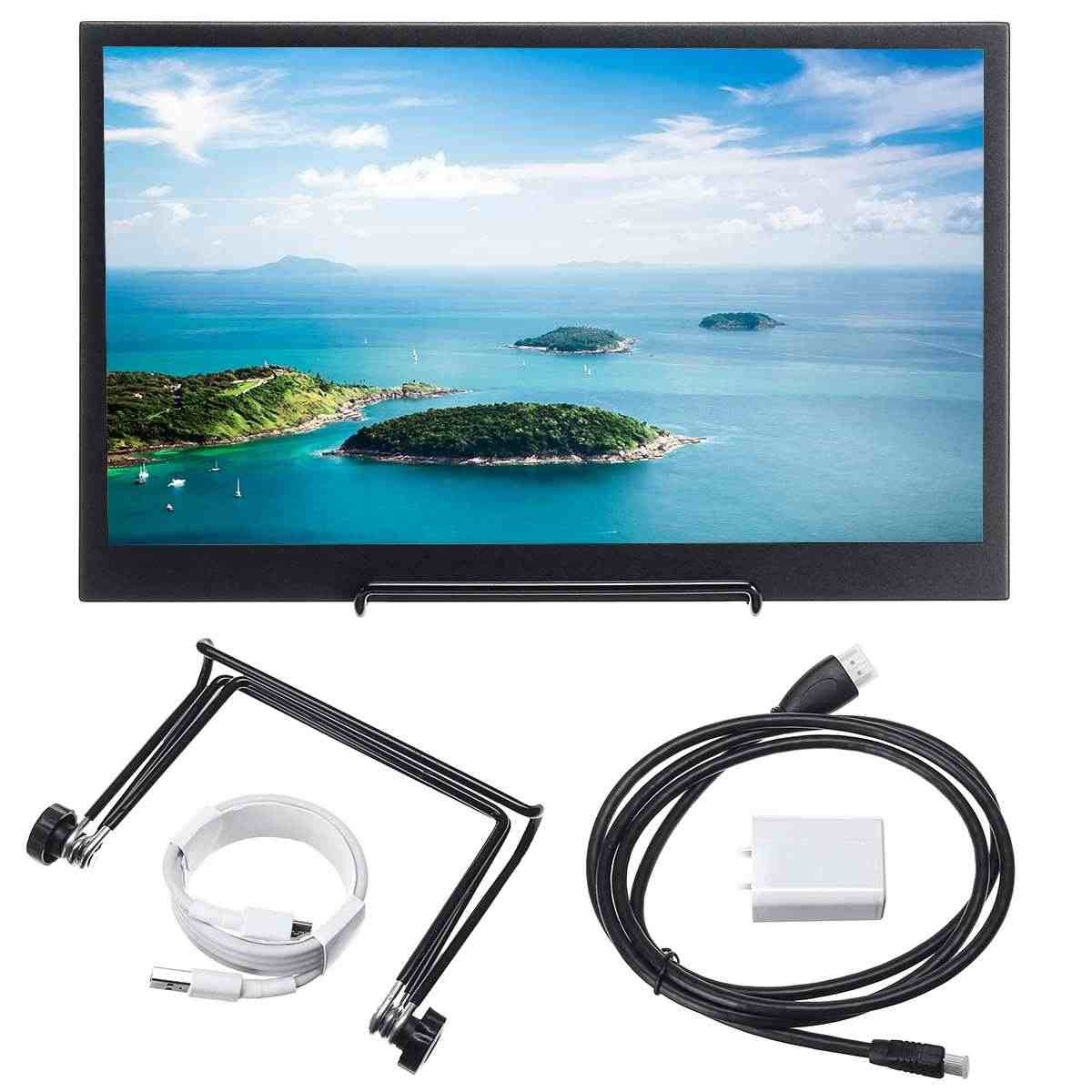 Di Động 13.3 Inch MÀN Hình LCD IPS Chơi Game Máy Tính HD 1080 P Màn Hình USB USB Màn Hình cho Công Tắc Điện Thoại Laptop dành cho PS4 dành cho XBOX