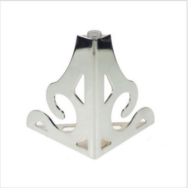 4pcs 120mm Set Metal Furniture Cabinet Legs Bed Tea Table Chair Sofa Leg Feet