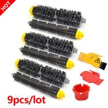 Escova de cerdas flexível batedor escova para irobot roomba 600 700 series 620 610 630 650 660 760 770 780 790 peças aspirador pó