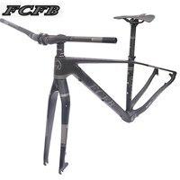2017 FCFB mtb frame mtb bike frame carbon mountain carbon frame 29er*17/19inch carbon handlebar seatpost stem saddle