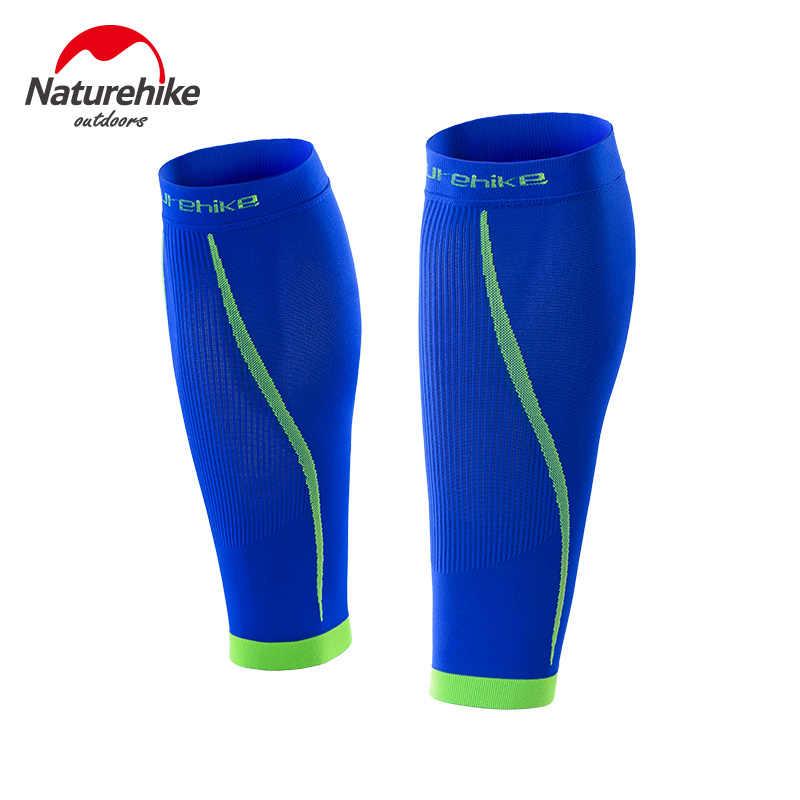 Naturehike 1ペアカーフ圧縮スリーブ屋外シームレスレギンス脚スリーブ改良された脚循環痛みリリーフNH17H003-M