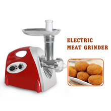 Multifunction Electric Meat Grinder Sausage Stuffer Household Mincer Hamburger Machine Kitchen Gift Items Kitchen Accessories недорого