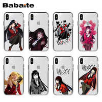 Babaite Anime Kakegurui Telefon Fall Abdeckung Für iPhone X 10 8 8Plus 7 7Plus 6 6S Plus 5 5S SE11 11pro 11promax