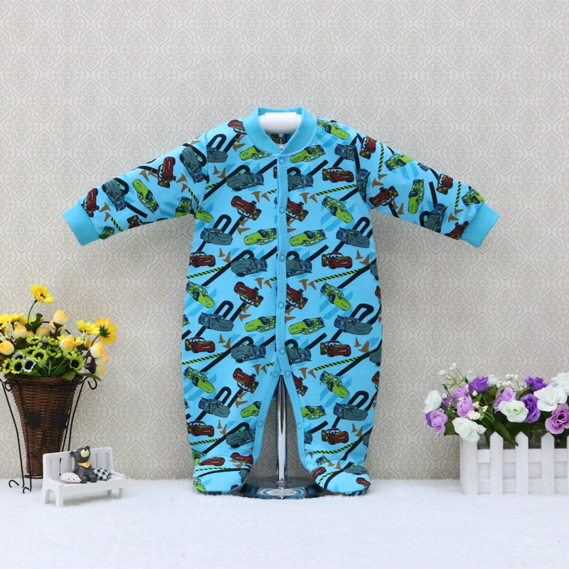Boys and Girls Long Sleeve   Rompers   Pure Cotton Baby Suits Summer and Aumntun Clothes Newborn Clothing 2019 New Style