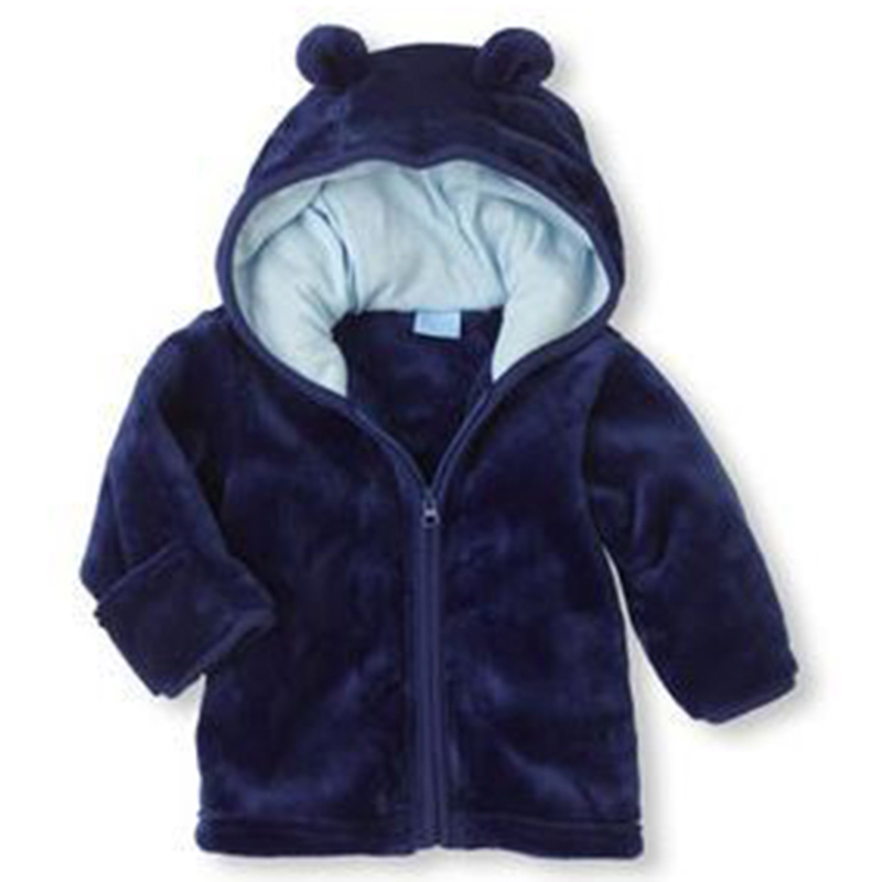 2017-winter-new-baby-coral-Fleece-Hooded-Jacket-infant-super-cute-cartoon-shape-solid-color-warm-Hoodie-3-color-free-shipping-2