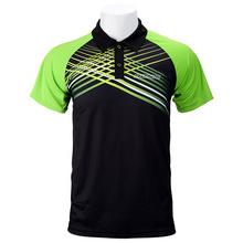 2018 DONIC tenis stołowy ubrania Sportswear szybkie suche Krótki rękaw mężczyźni ping pong shirt Badminton Sport koszulki tanie tanio Unisex Pasuje do rozmiaru Weź swój normalny rozmiar