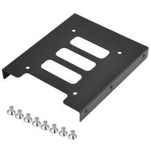 "2 шт 2,"" до 3,5"" SSD HDD металлический адаптер док-станция чехол Caddy Монтажный кронштейн держатель жесткого диска для ПК"