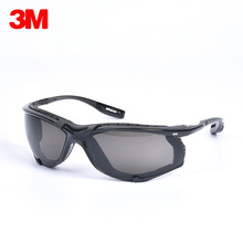 3M 11873 Virtua CCS Protective Eyewear Foam Gasket Anti Fog Lens Dust Wind Proof Riding Sporty Safety Goggles Protective Glasses