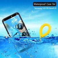 Чехол для samsung S10Plus S10 5G Водонепроницаемый чехол 360 Защита IP68 Note9 samsung Galaxy Note 9 чехол для samsung S9 Etui S10e