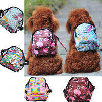 Bag Carrier Dog Backpack With Leash Pet Puppy School Bag Self Dog Bag Harness Vest Outdoor Portable Travel Tote Snack Bags