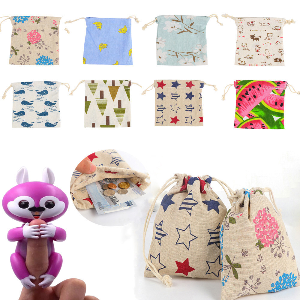 Funny Dolls Portable Kids Play Storage Bag Toys Rug Box For Monkey Squirrel For Home Decoration #25