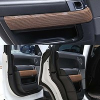 4 шт./компл. внутренние двери Панель Стикеры для Range Rover Sport 2014 2017 RR автомобильные аксессуары для укладки