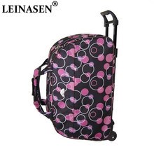 LEINASEN Fashion Waterproof Luggage Bag Thick Style Rolling Suitcase Trolley Luggage Women&Men Travel Bags Suitcase With Wheels(China)