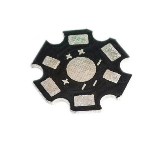 100pcs LED Aluminum Substrate 1W 3W 5W Lamp Be In Common Use High-power Lamp Heat Sink Board