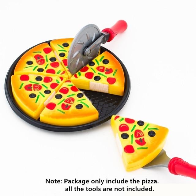Heißer Verkauf Pizza Essen Spielzeug Kunststoff Pizza Pie Spielzeug ...