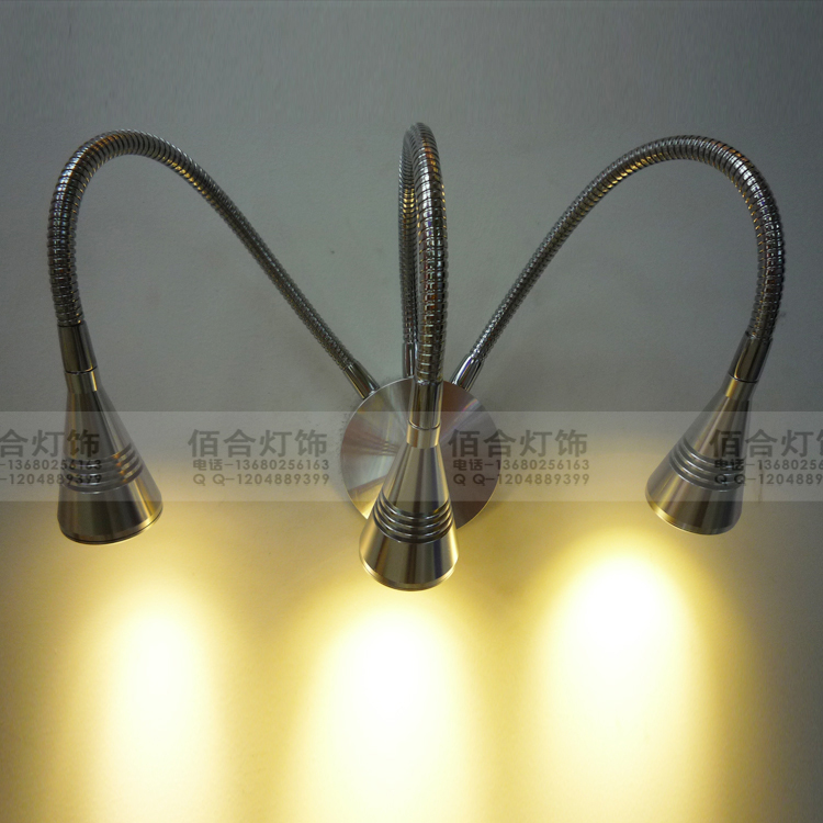 Hose Lamp Led Three Heads Wall Ceiling Lamp Background With The Clothing Shop Personality Jewelry Zzp1711802 Fine Workmanship Ceiling Lights & Fans