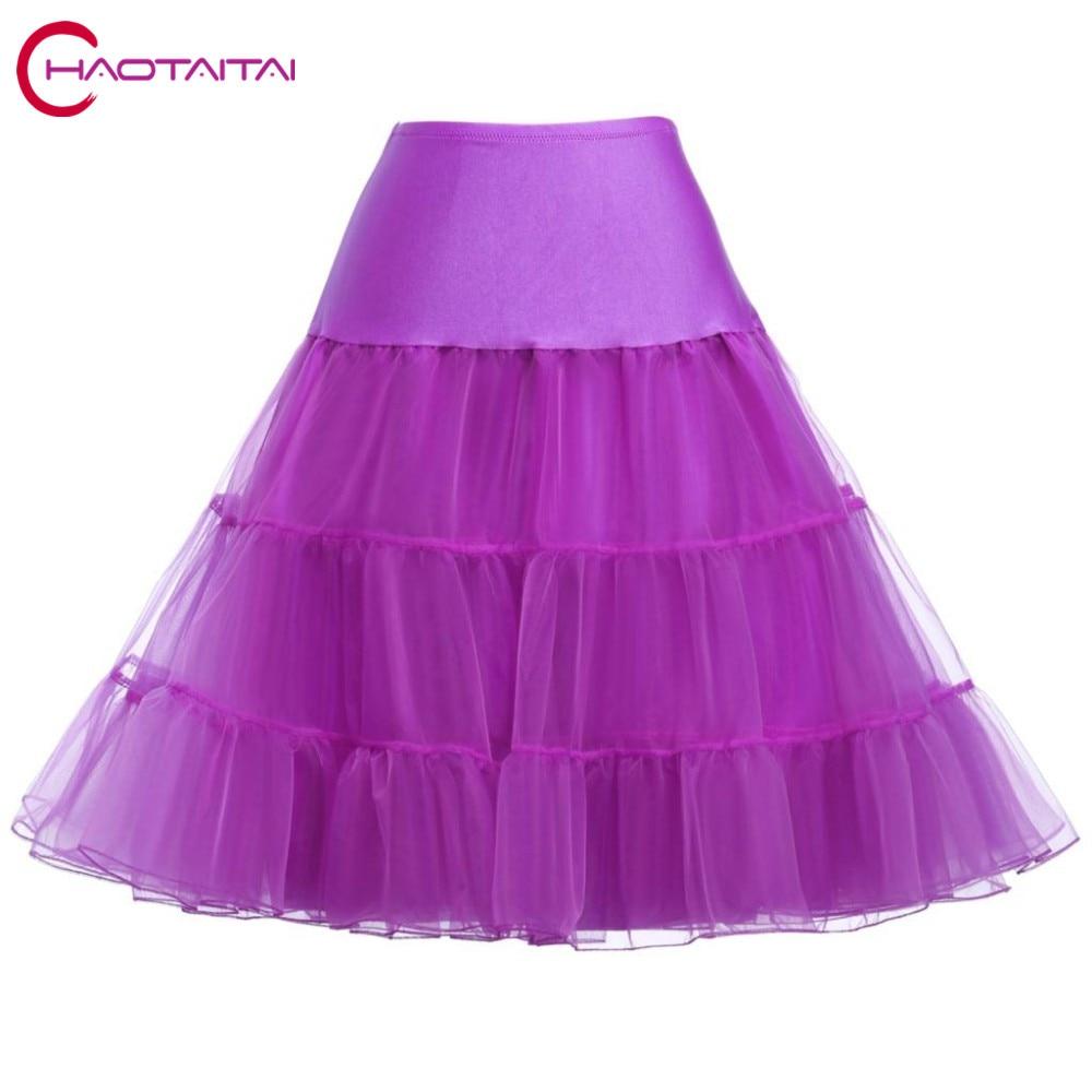 Best Selling Short Organza Petticoat Crinoline Vintage Wedding Bridal Petticoats for Prom Dresses Underskirt Rockabilly Tutu
