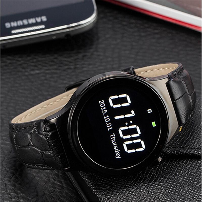 US $46 8 |Original S3 Bluetooth Smart Watch MTK2502 Wrist Smartwatch APK  for Apple IOS Samsung Android Smartphone Men Women Wrist Watch-in Smart