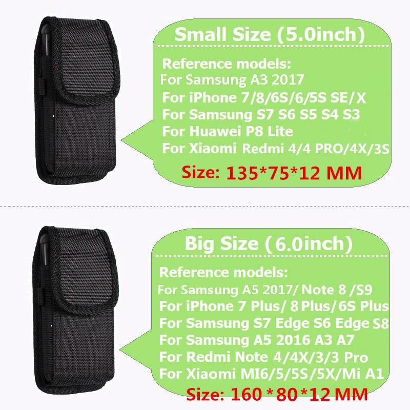 LANCASE Smartphone Pouch Belt tas pinggang untuk smartphone belt - Aksesori dan suku cadang ponsel - Foto 3