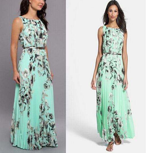 2015 summer style summer maxi beach dress explosion models new ...